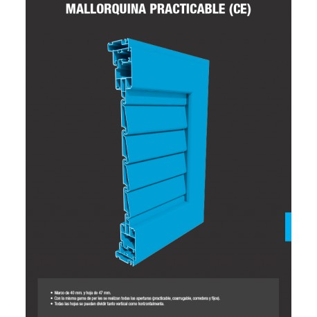 Mallorquina PRACTICABLE (C.Europea)